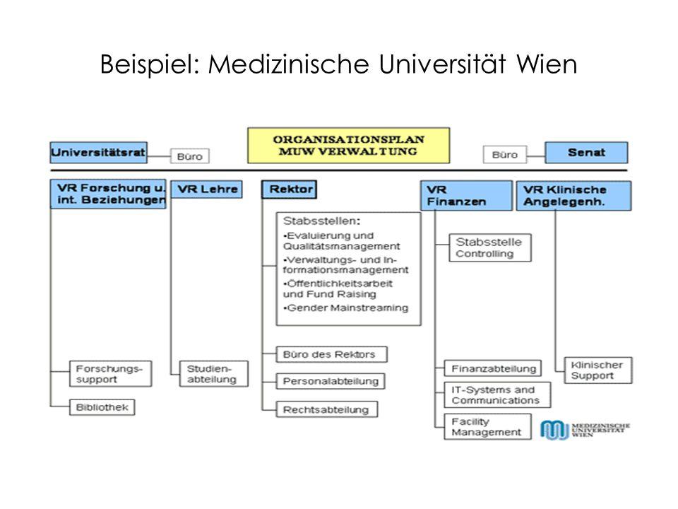 Beispiel: Medizinische Universität Wien