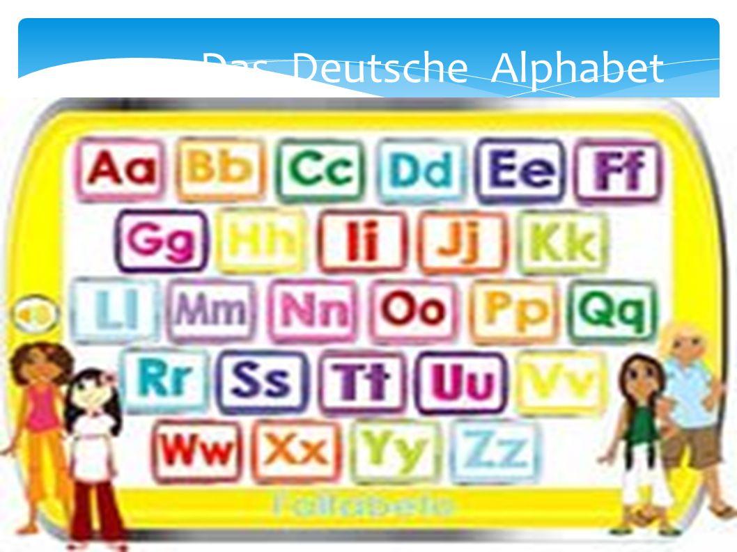 Das Deutsche Alphabet Заголовок