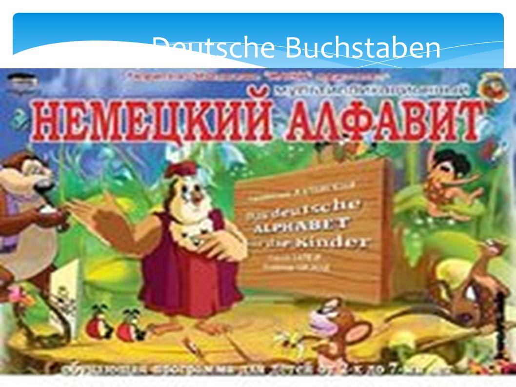 Deutsche Buchstaben Ww