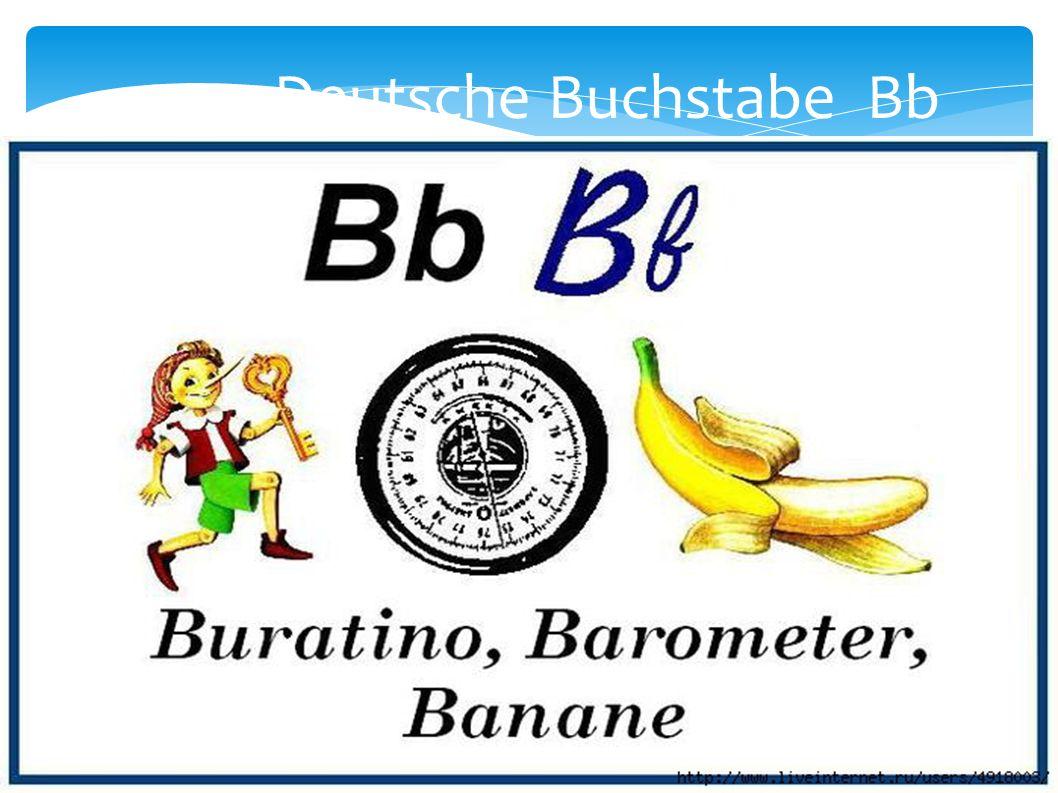 Deutsche Buchstabe Bb