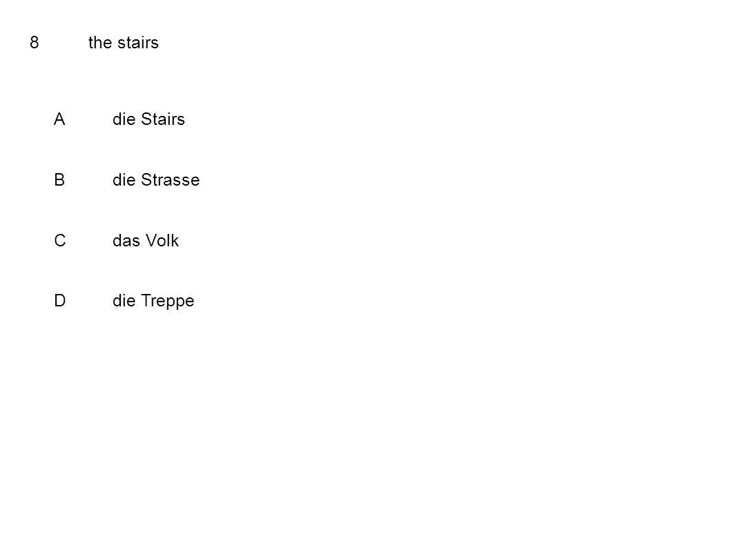 8the stairs Adie Stairs Bdie Strasse Cdas Volk Ddie Treppe