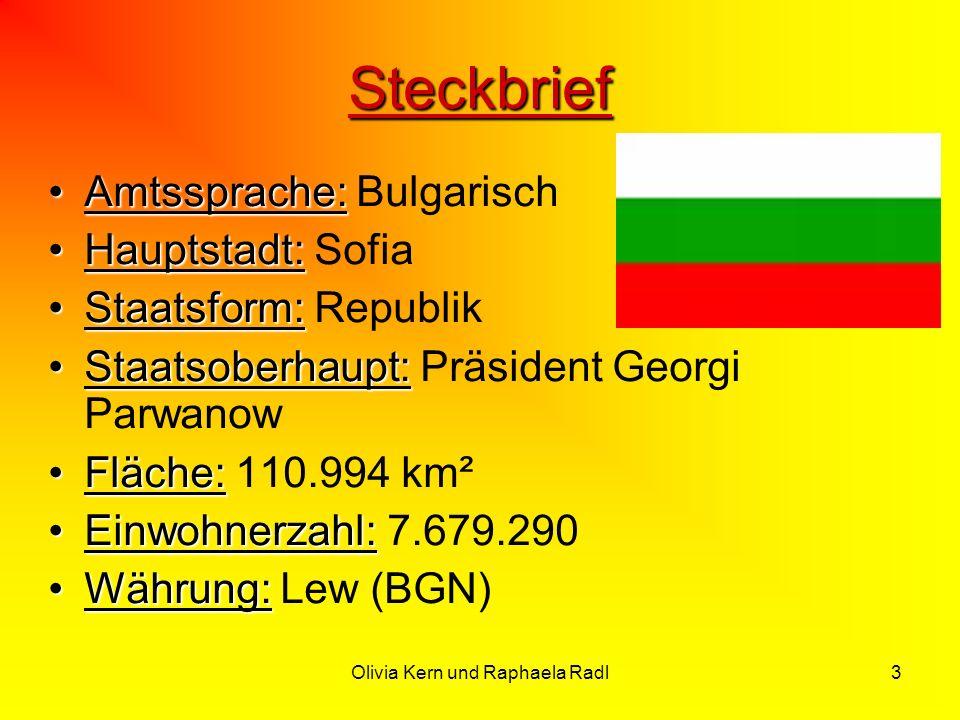 3 Steckbrief Amtssprache:Amtssprache: Bulgarisch Hauptstadt:Hauptstadt: Sofia Staatsform:Staatsform: Republik Staatsoberhaupt:Staatsoberhaupt: Präside