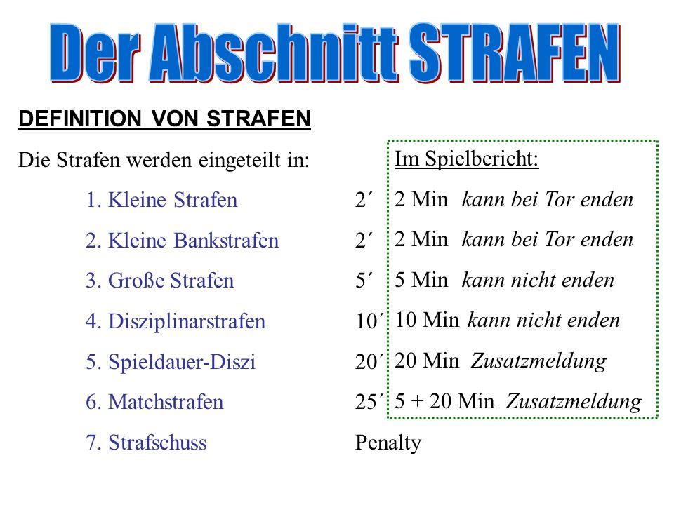 Spielbericht vor dem Spiel   Spielberichtskopf   beide Mannschaftsaufstellungen   Unterschriften der Trainer / Mannschaftsführer   Unterschrift des Sanitäters/Arztes