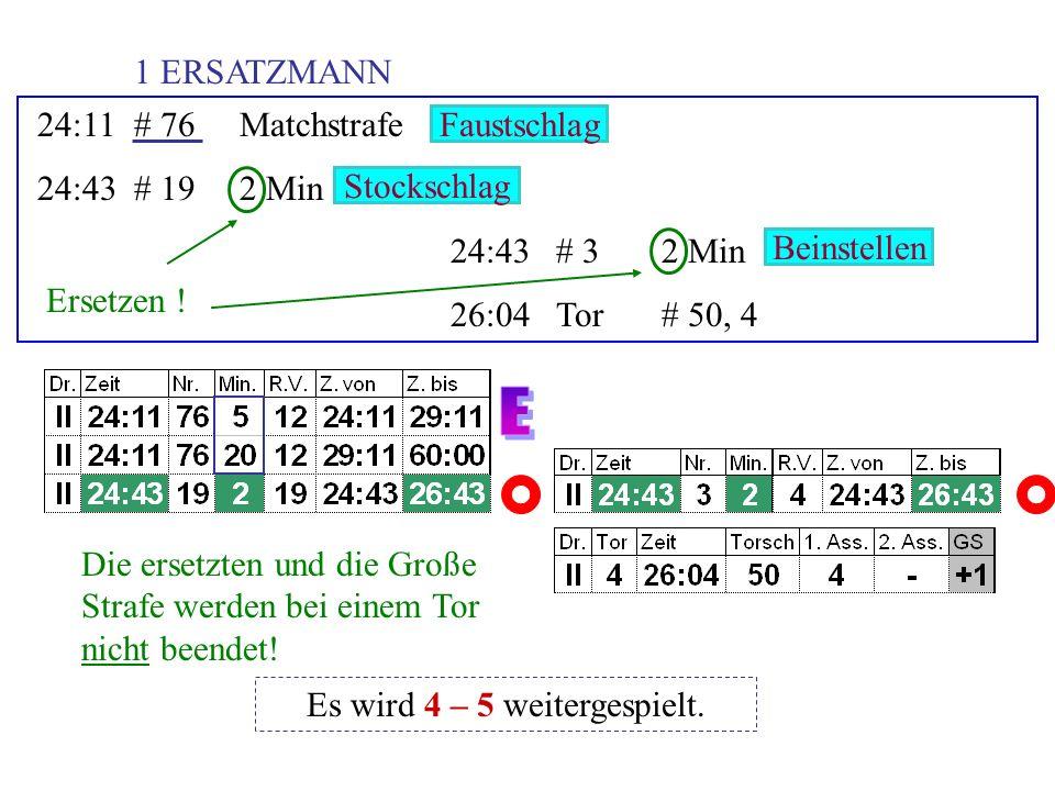 27:13# 365 Min + Spieldauer 27:13# 92 Min 27:13# 512 Min 29:09Tor# 3, 18, 52 Unkorr.