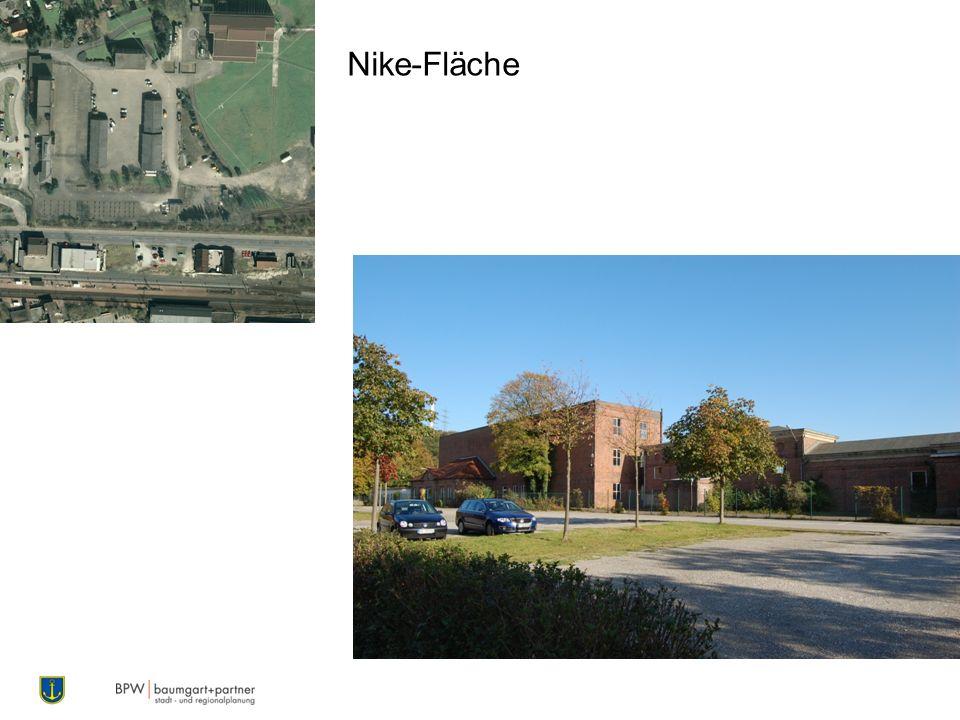 Nike-Fläche