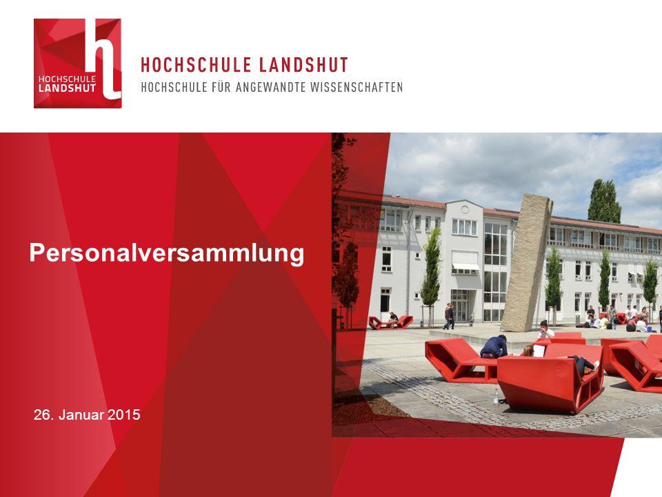 Neubau eines Verwaltungs- und Hörsaalgebäudes 26. Januar 2015
