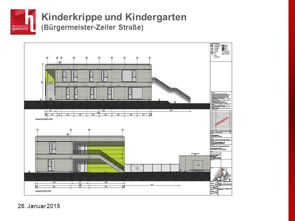 Kinderkrippe (Bürgermeister-Zeiler Straße) 26. Januar 2015