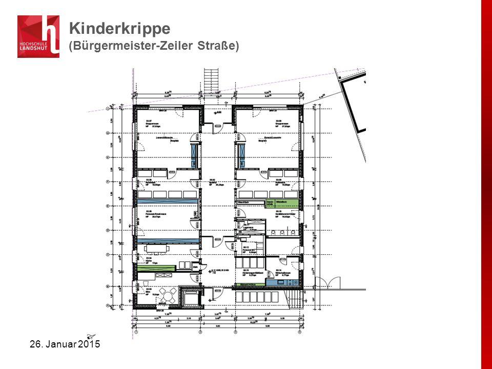 Kindergarten (Bürgermeister-Zeiler Straße) 26. Januar 2015