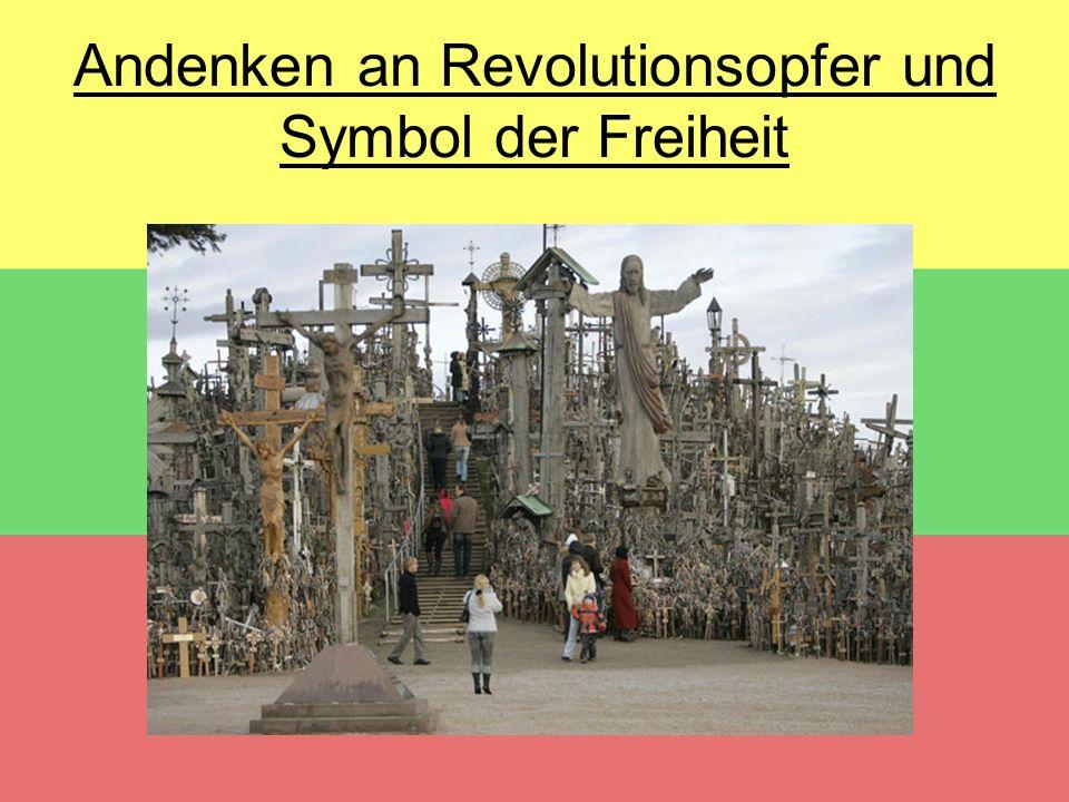 Andenken an Revolutionsopfer und Symbol der Freiheit