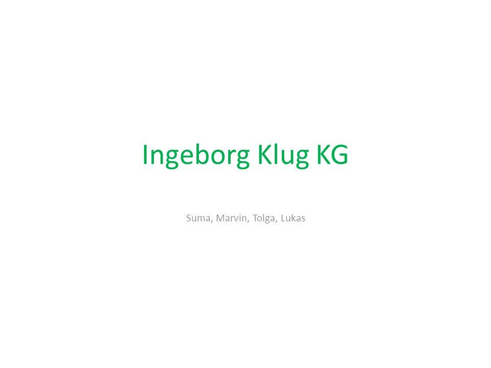 Ingeborg Klug KG Sonstiges Mit wem.Womit. Warum Wo.