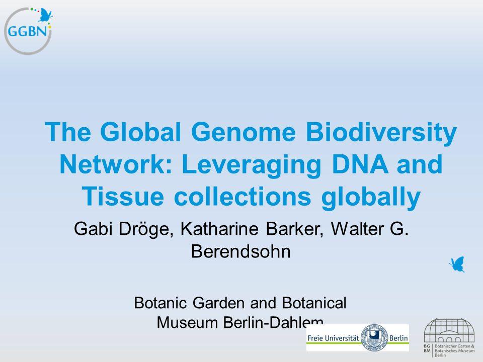 Textmasterformat bearbeiten –Zweite Ebene Dritte Ebene –Vierte Ebene »Fünfte Ebene Titelmasterformat durch Klicken bearbeiten The Global Genome Biodiv