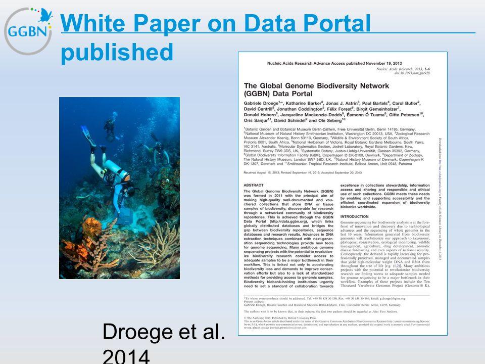 Textmasterformat bearbeiten –Zweite Ebene Dritte Ebene –Vierte Ebene »Fünfte Ebene Titelmasterformat durch Klicken bearbeiten White Paper on Data Port