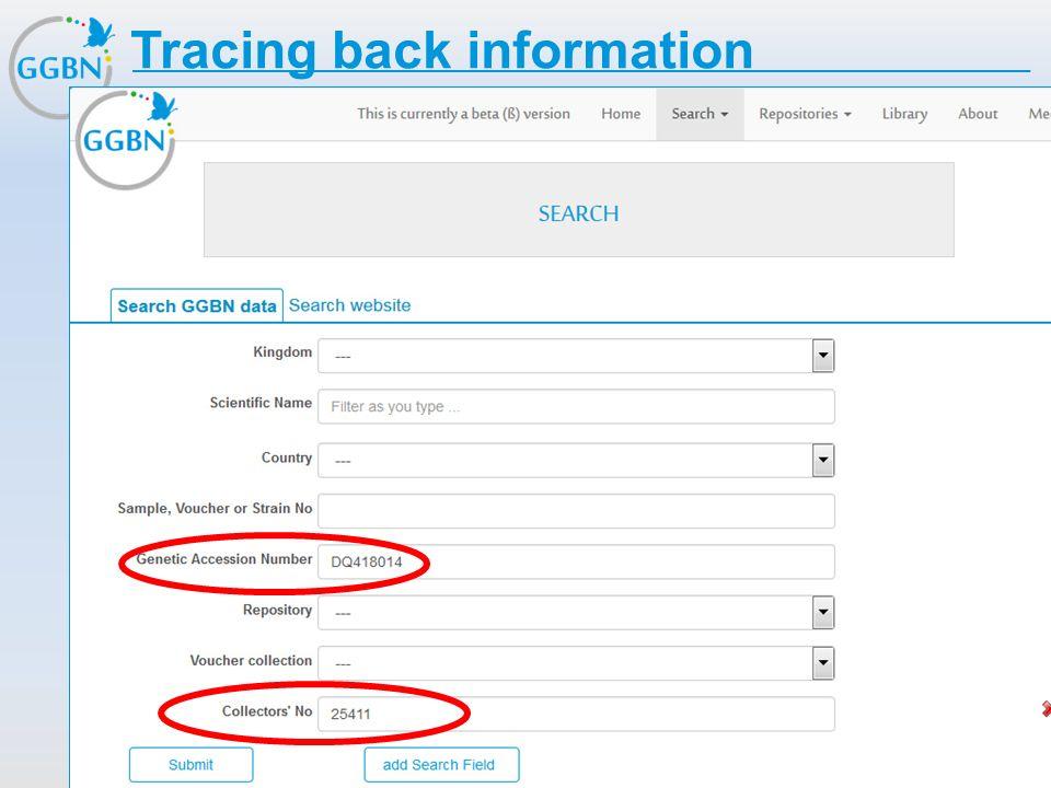 Textmasterformat bearbeiten –Zweite Ebene Dritte Ebene –Vierte Ebene »Fünfte Ebene Titelmasterformat durch Klicken bearbeiten Tracing back information