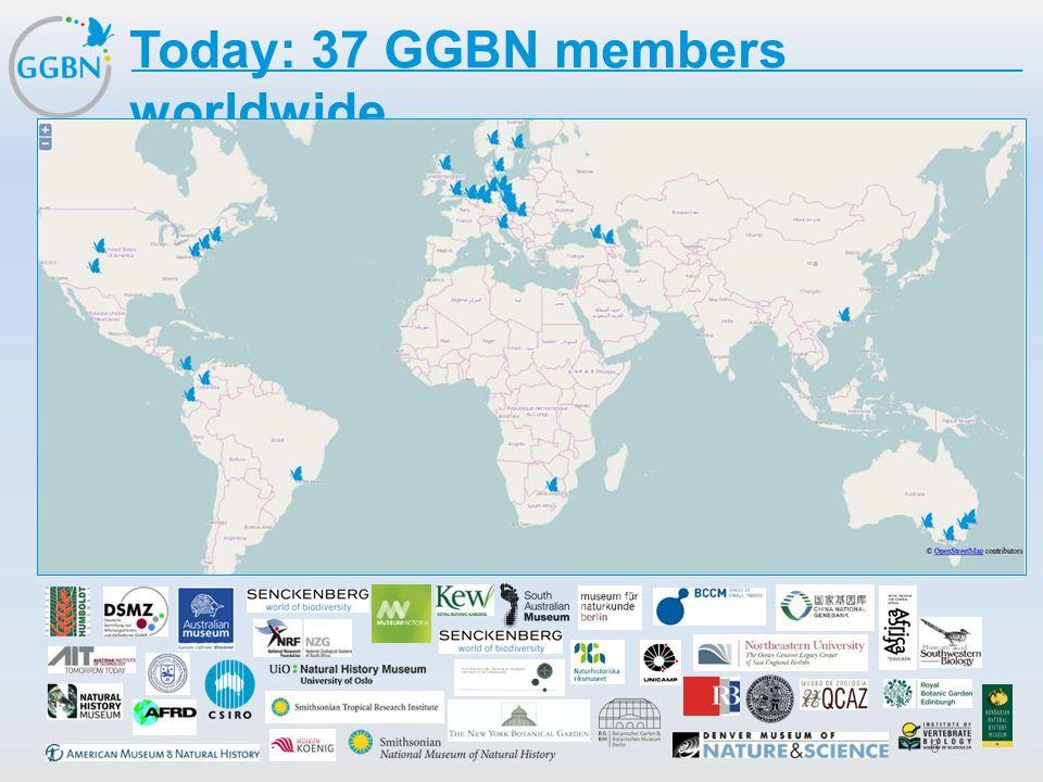 Textmasterformat bearbeiten –Zweite Ebene Dritte Ebene –Vierte Ebene »Fünfte Ebene Titelmasterformat durch Klicken bearbeiten Today: 37 GGBN members w