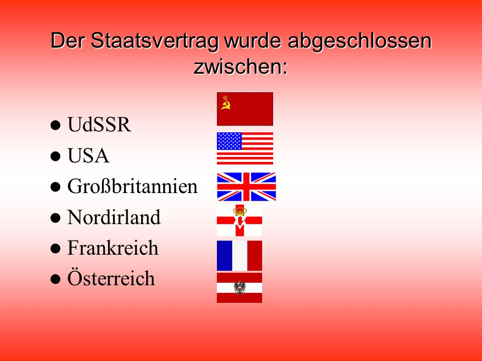 Der Staatsvertrag