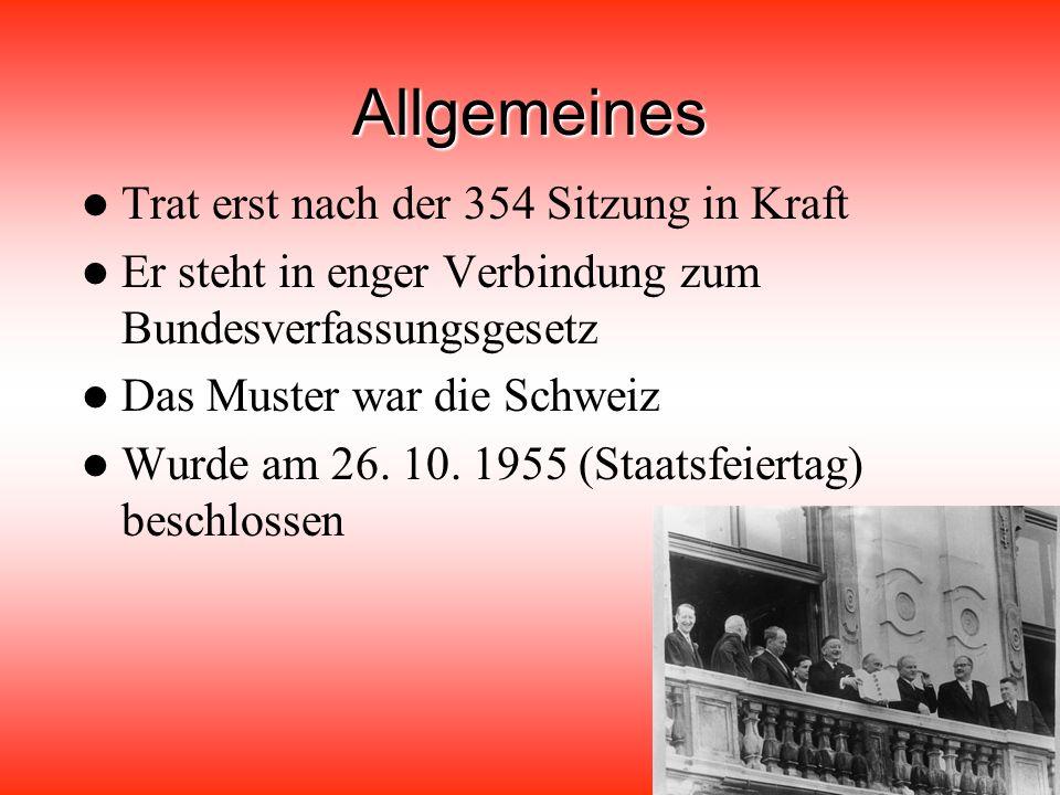 Der Staatsvertrag wurde abgeschlossen zwischen: UdSSR USA Großbritannien Nordirland Frankreich Österreich