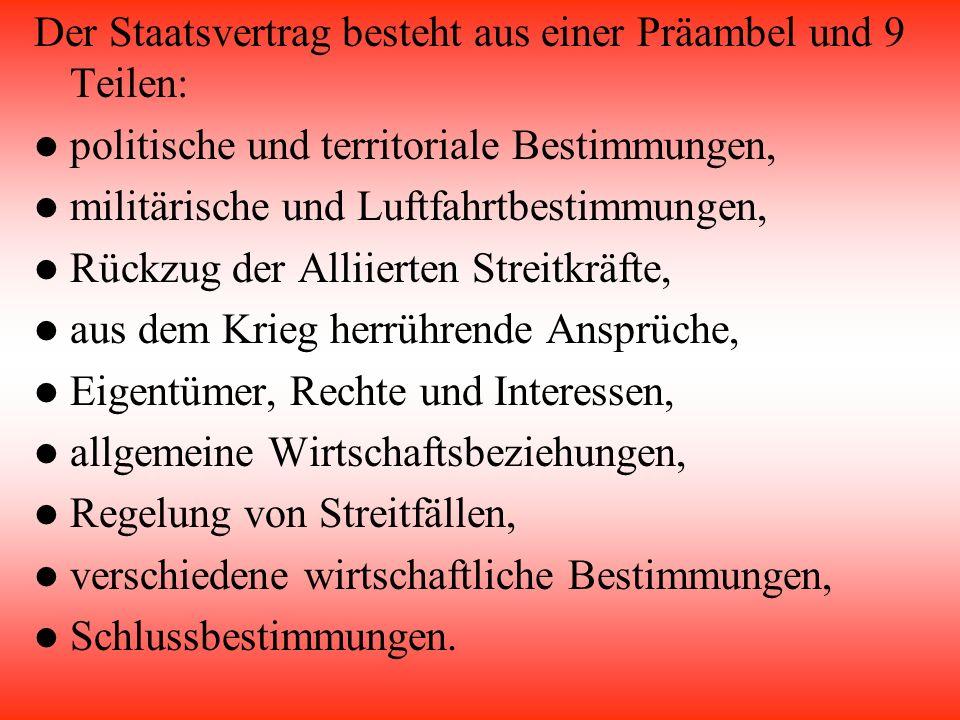 Allgemeines Trat erst nach der 354 Sitzung in Kraft Er steht in enger Verbindung zum Bundesverfassungsgesetz Das Muster war die Schweiz Wurde am 26.