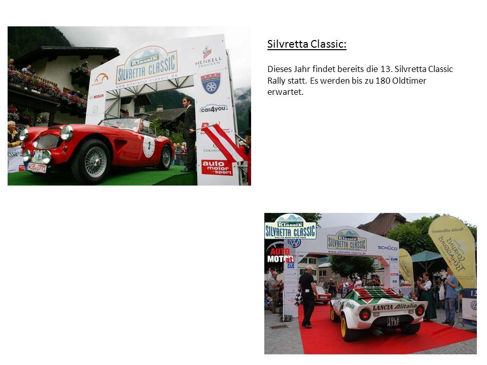 Silvretta Classic: Dieses Jahr findet bereits die 13.