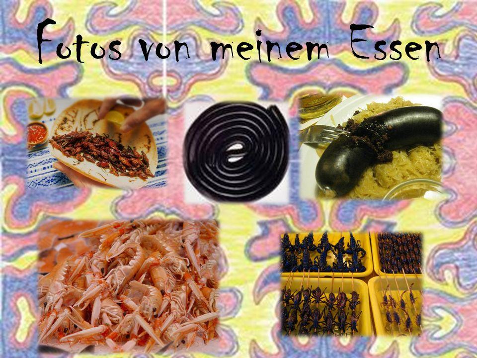 Fotos von meinem Essen