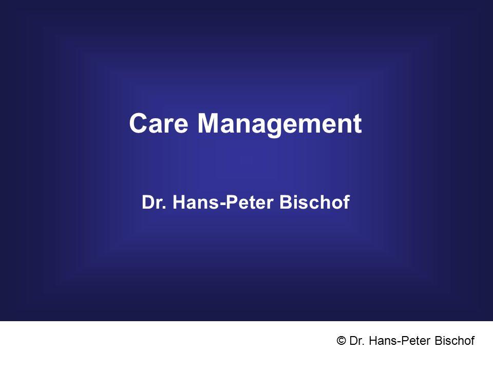 Betreuungs- team CASE - Manager (Hausarzt) PflegeSoziales Angebot ArztRehabilitation Facharzt Sozialpsych., IFS, Caritas, Hospiz etc.
