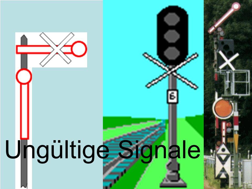 Ungültige Signale