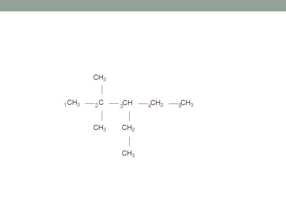 Hauptkette ermitteln und benennen pentan 1.