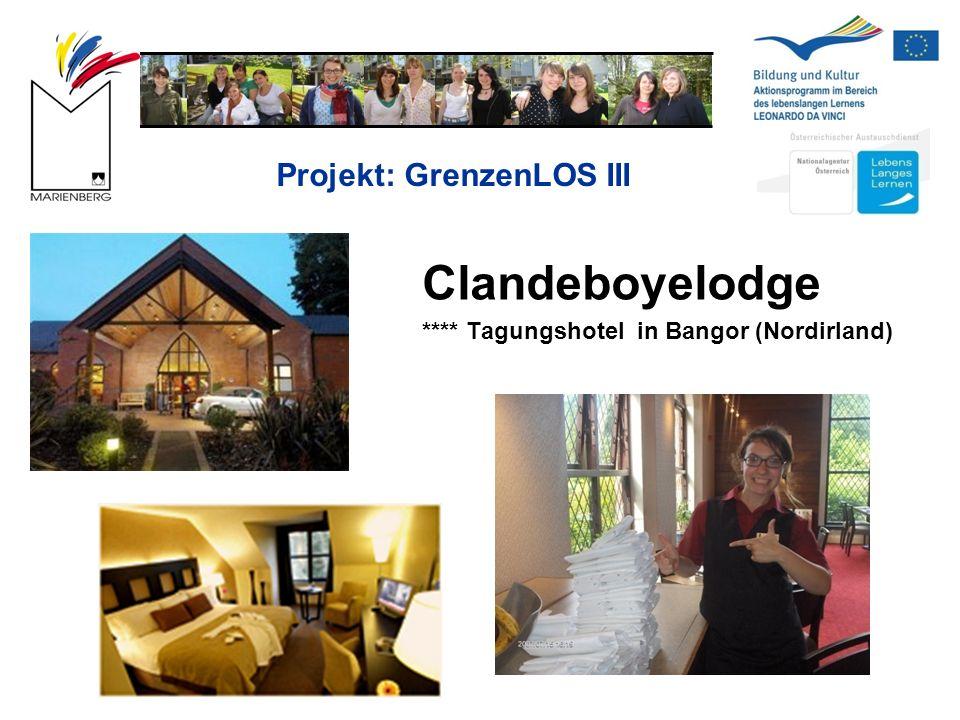 Projekt: GrenzenLOS III Clandeboyelodge **** Tagungshotel in Bangor (Nordirland)