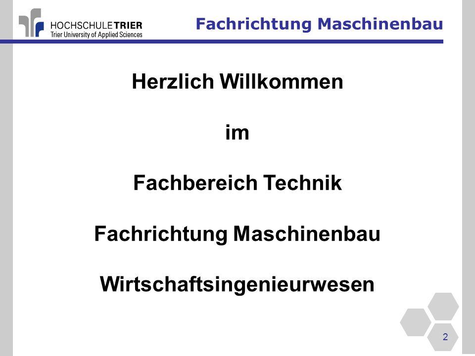 Fachrichtung Maschinenbau 33 IFT Institut für Fahrzeugtechnik Prof.