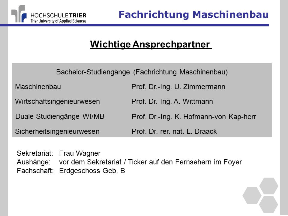 Fachrichtung Maschinenbau 38 Regelungstechnik Labor Labor für Kolben- und Strömungsmaschinen Prof.