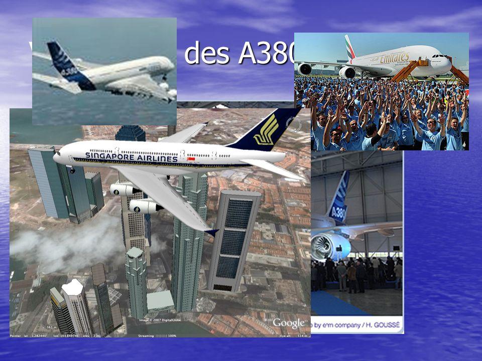 Vorführung des A380
