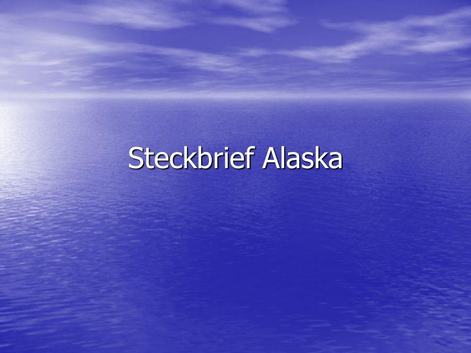 Steckbrief Alaska