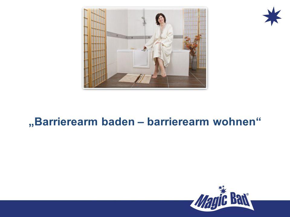 """""""Barrierearm baden – barrierearm wohnen"""