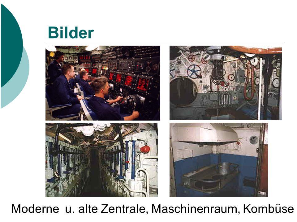 Bilder Moderne u. alte Zentrale, Maschinenraum, Kombüse