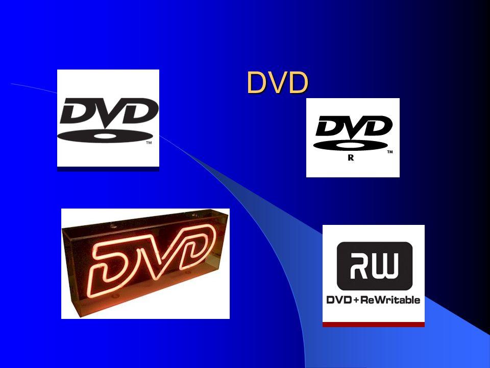 DVD Geschichte ein Medium welches Videos ähnlich komfortabel ist, wie Musik- und Sprachaufnahmen mit der CD 1999 ersten DVD-Brenner im Handel – Kosten: 25.000€ zunächst Digital Video Disc Man einigte sich auf Digital Versatile Disc