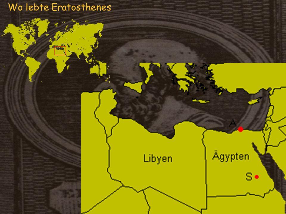Wo lebte Eratosthenes