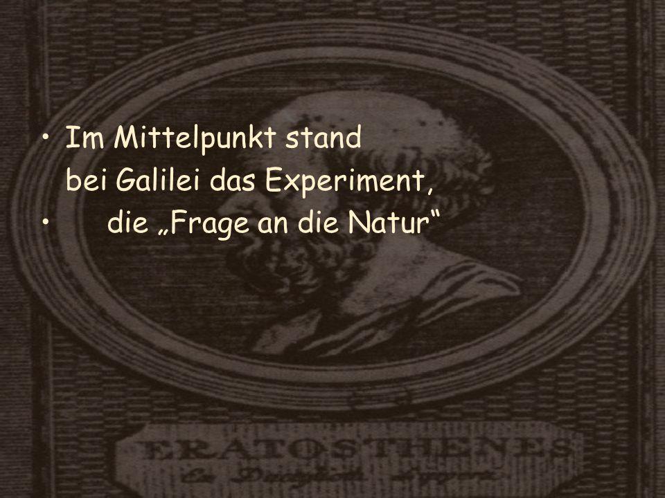 Isaac Newton Isaac Newton (1643-1727) stimmte Experiment und theoretische Erklärungsversuche aufeinander ab.