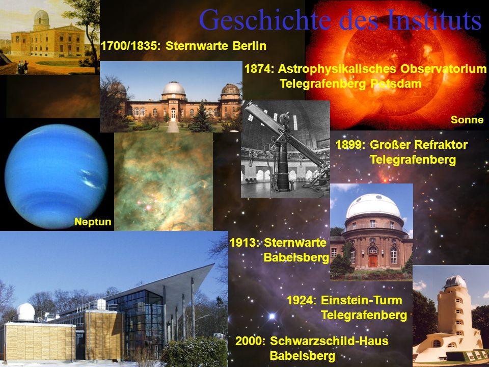 Lageplan SchwarzschildHaus Neubau II 2004-2005 .