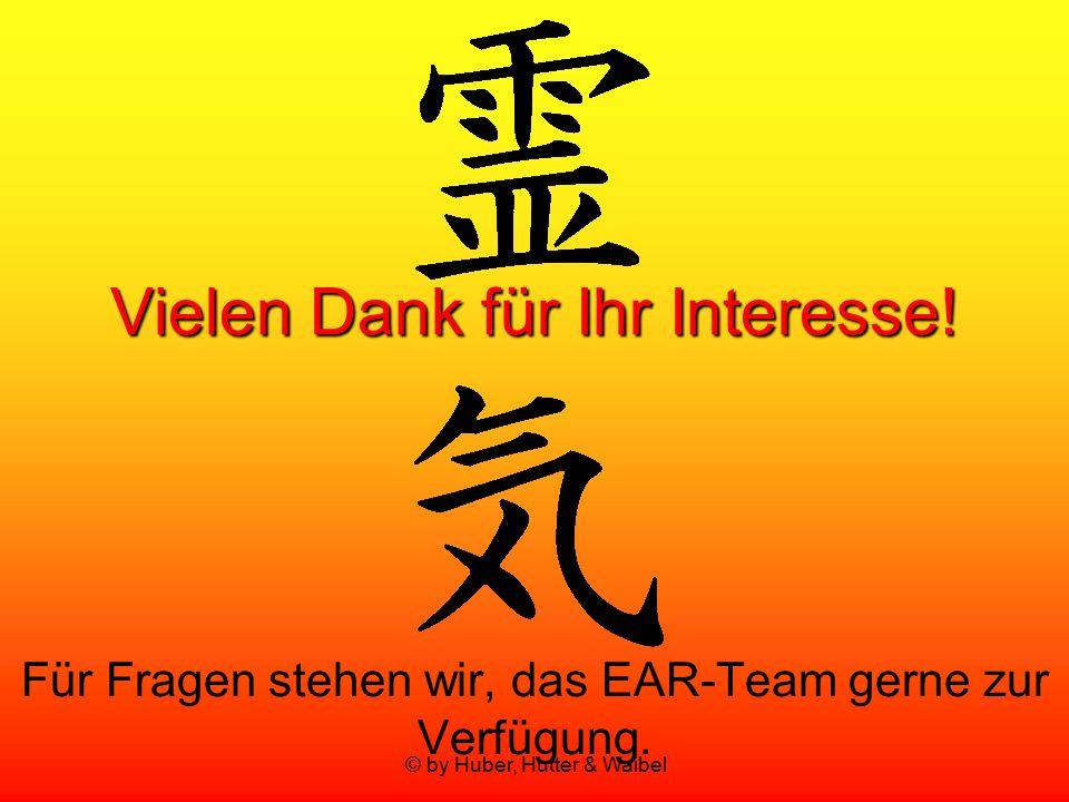 © by Huber, Hutter & Waibel Vielen Dank für Ihr Interesse! Für Fragen stehen wir, das EAR-Team gerne zur Verfügung.