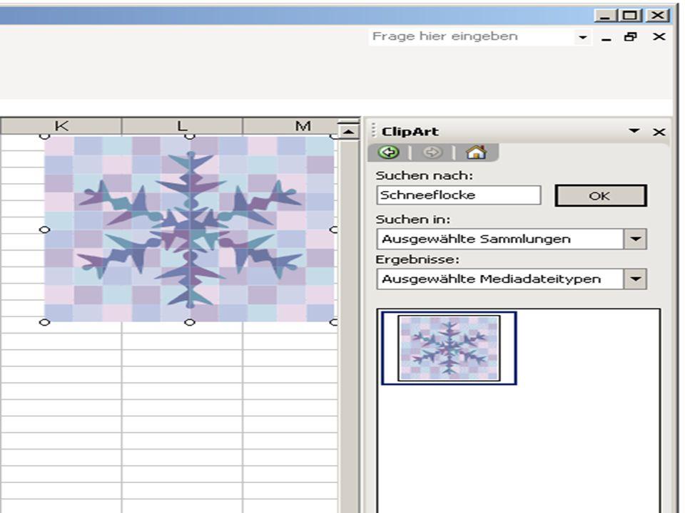 Grafik Hyperlink in Excel Referatthema Text Hyperlinkerstellung mit Grafiken 1.) Füge eine Grafik ein: Menüleiste Einfügen Grafik Clip Art Oder aus Da