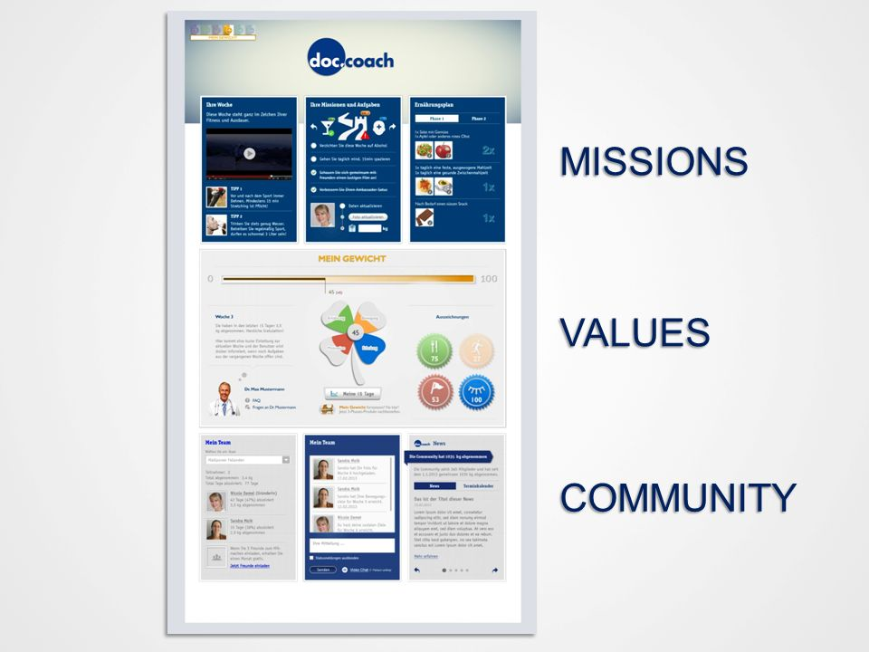 MISSIONS VALUES COMMUNITY