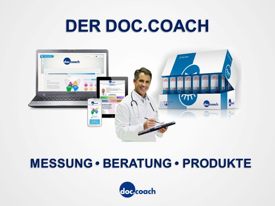 DER DOC.COACH MESSUNG BERATUNG PRODUKTE