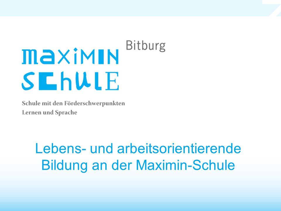 Lebens- und arbeitsorientierende Bildung an der Maximin-Schule