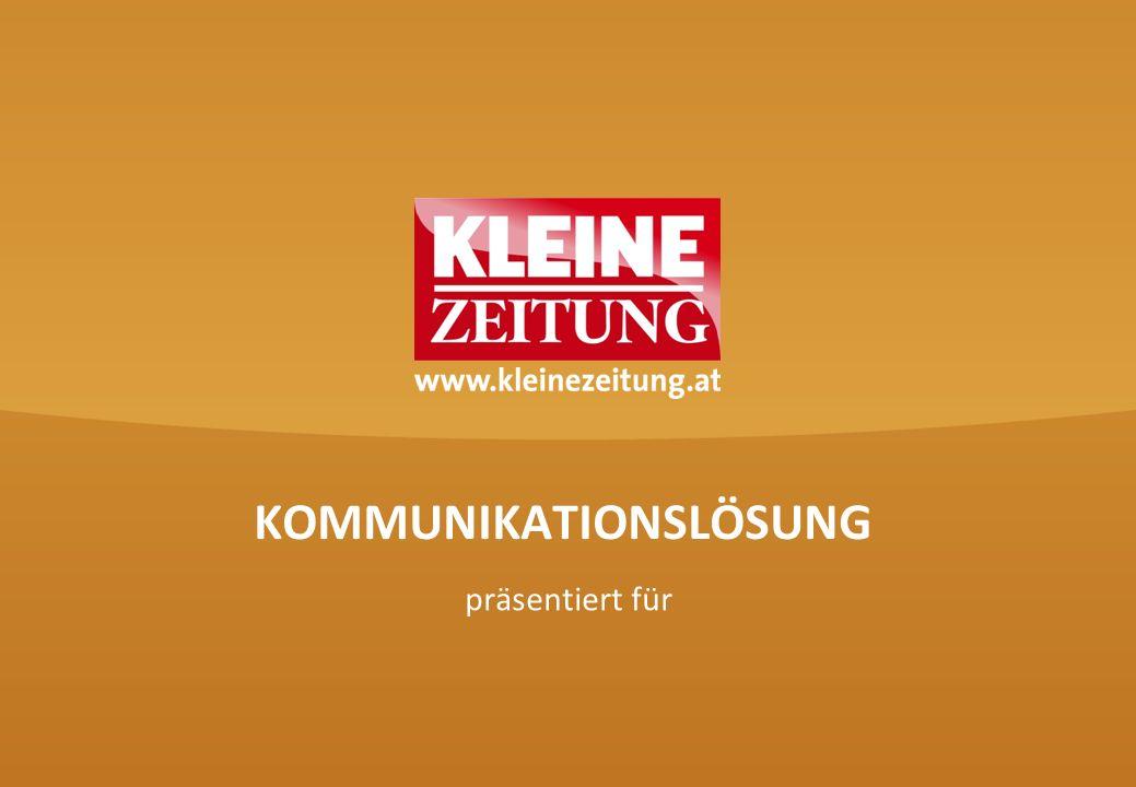 KOMMUNIKATIONSLÖSUNG präsentiert für
