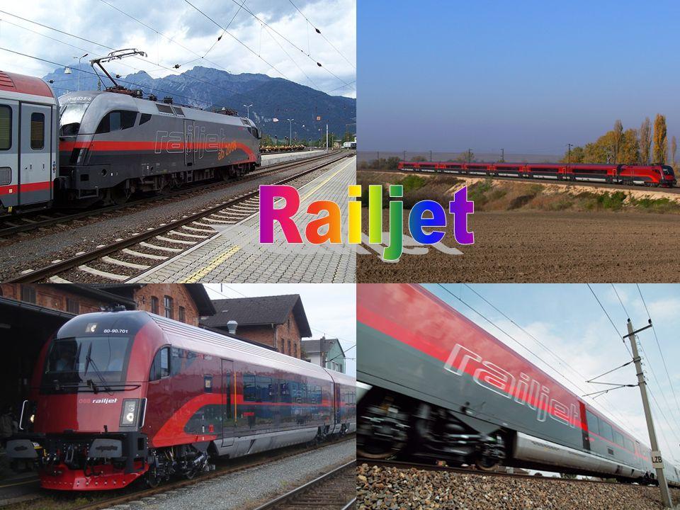 Railjet Überblick  15.September 2008 erstmals der Öffentlichkeit präsentiert.