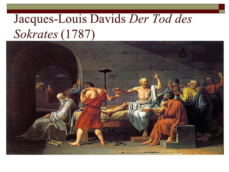 Jacques-Louis Davids Der Tod des Sokrates (1787)