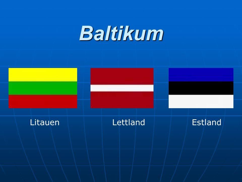 Allgemeines Geographisches und historisches Gebiet im Nordosten Europas Geographisches und historisches Gebiet im Nordosten Europas Estland, Lettland, Litauen Estland, Lettland, Litauen Fläche: 175 000 Quadratkilometer Fläche: 175 000 Quadratkilometer Einwohner: ca.