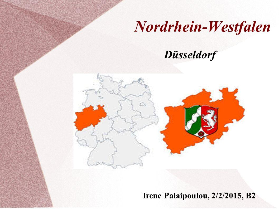 Allgemeine Informationen ● Nordrhein-Westfalen ist das viertgrößte Bundesland.