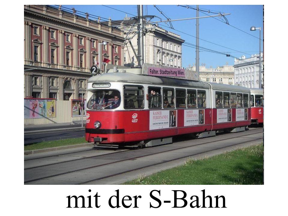 mit der S-Bahn