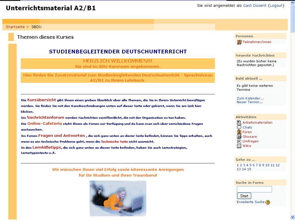 SDU-Lehrwerk A2/B1