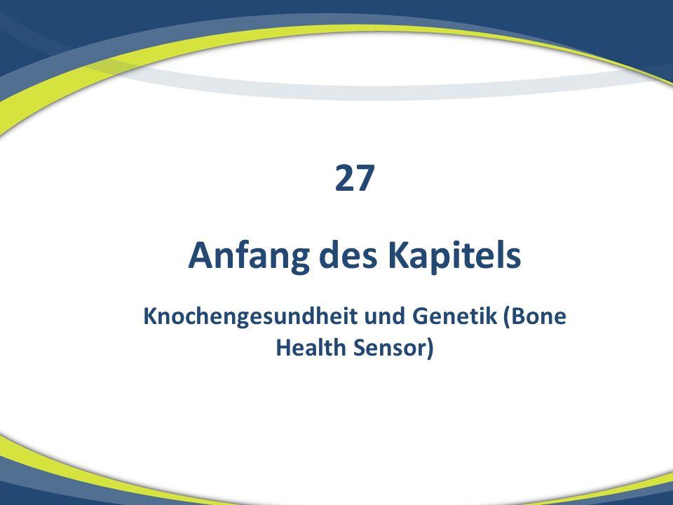 OSTEOPOROSE Knochendichte und Alter Osteoporose OsteopenieKnochendichte Alter (Jahre) 10 20 30 40 50 60 70 VORSORGE